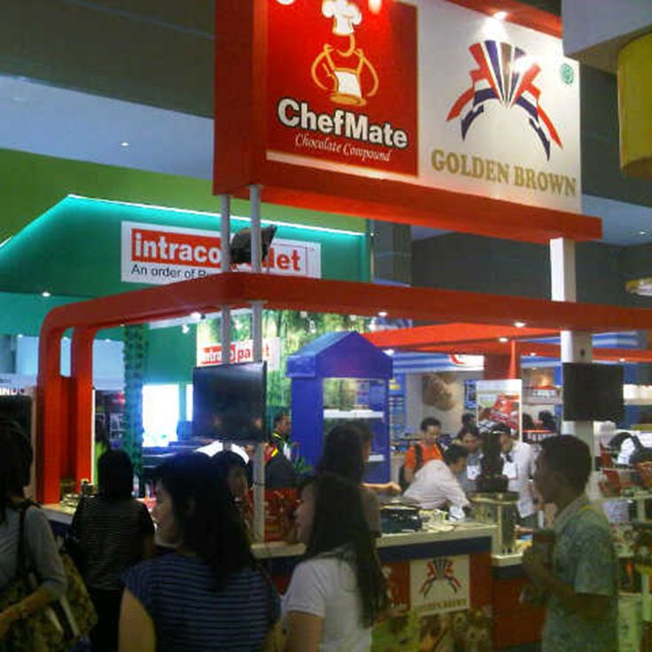ChefMate booth in Jakarta, Indonesia