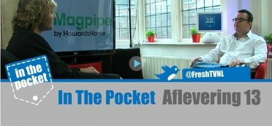 """Deze aflevering praat Marcel Vergonet met Michiel van Gaalen over Magpipe.   """"In The Pocket"""" is een online talkshow over het web en op het web. Wekelijks worden er interessante ontwikkelingen besproken op het gebied van Gadgets, Apps, Internet en Social Media."""
