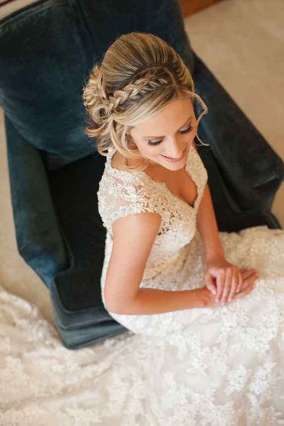 Wedding Hairstyle   : Featured Photographer: Sarah Dupree Photography