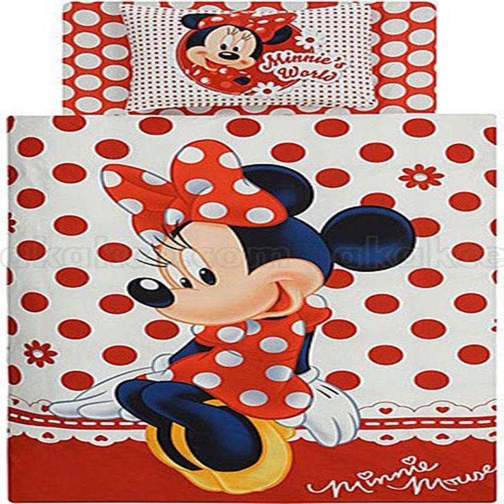 Lenjerii de pat - Lenjerie pat Disney Minnie Mouse Cumparati aceasta lenjerie de pat intrand aici http://www.lenjeriidepatdeosebite.ro