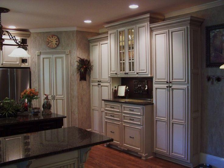 43 best light kitchens i don 39 t hate images on pinterest for Kitchen cabinet painting atlanta