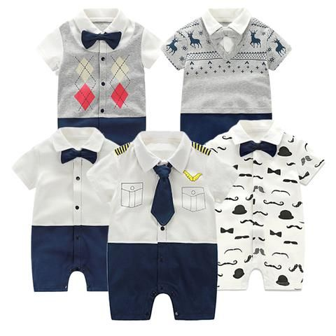 5c68c800d942 Baby Romper Summer Baby Girl Clothing Set Short Sleeve Baby Boy ...