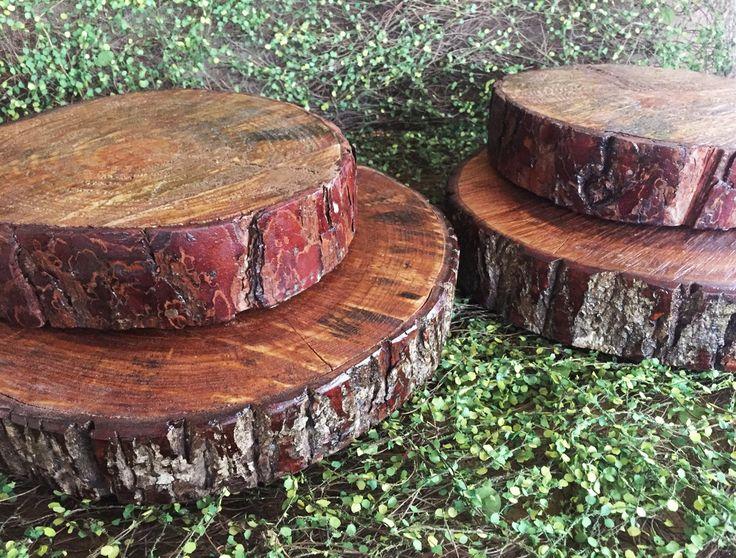 Tora de madeira - Aluguel by Design Festeiro