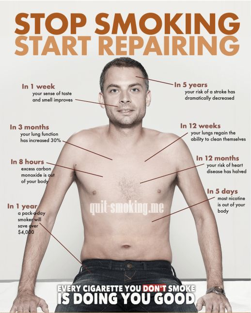 25+ best ideas about quit smoking timeline on pinterest | smoke, Skeleton