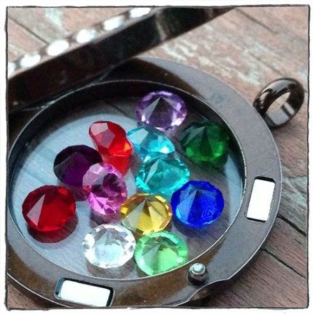 17 best images about floating lockets on pinterest set