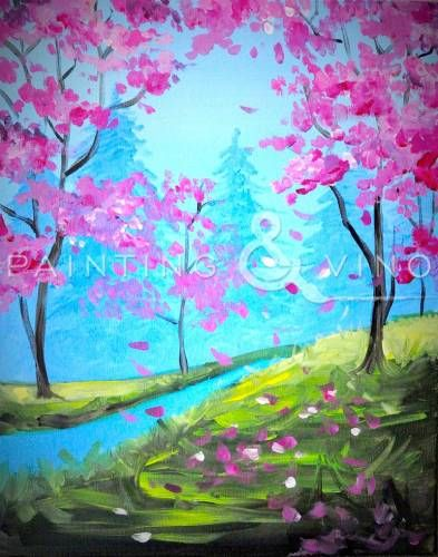 Pink Spring  Wednesday  6 9pm at StillWater in Dana Point  Come. 2764 best Art images on Pinterest   Canvas paintings  Canvas ideas