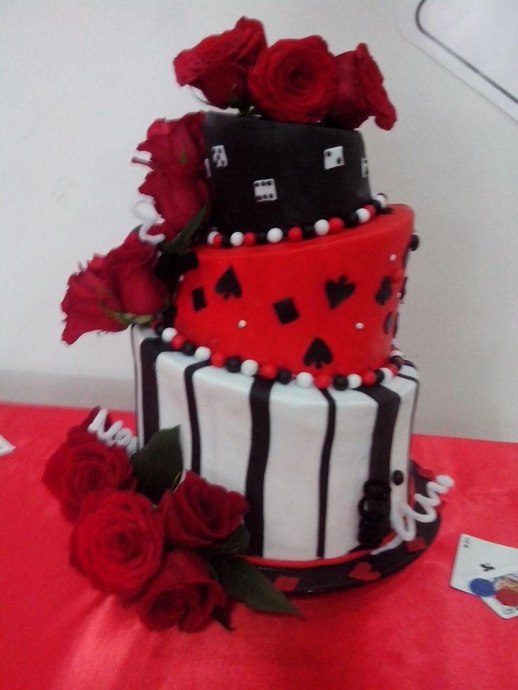 maqueta torta quince