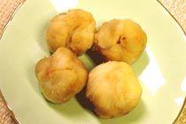 Miso potato dumpling