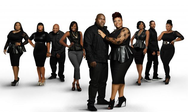 One of my favorite families..... David and Tamela Mann and their children