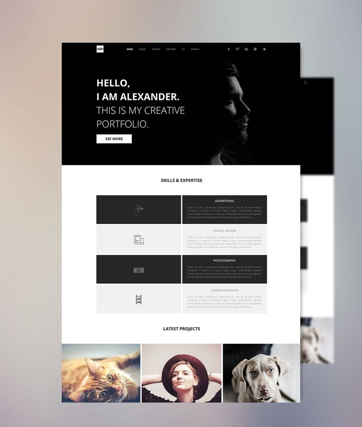 Alexander is our latest elegant Joomla! template, perfectly suitable for business and portfolio sites. It is built with the famous T3 Framework and the unbeatable technology of Bootstrap 3 which are both giving a one of a kind combination of an extensive responsive layout. Alexander is just another awesome Joomla! Theme from Minitek featuring the innovative Minitek Wall Pro.