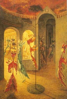 Remedios Varo,  To Women's Happiness Fine Art Reproduction Oil Painting