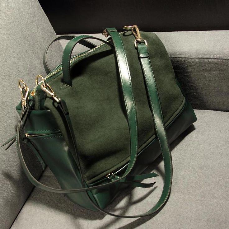 Tinkin 2015 Nubuck Women's Handbag Fashion Vintage Messenger Bag Larger Motorcycle Winter Women Bags Bigger Than A4
