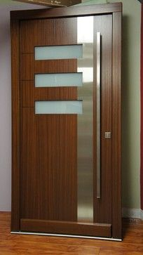 This without the stainless?  Modern Front Entry Doors / Contemporary Front Entry Doors modern front doors