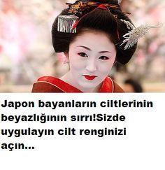 Japon cilt beyazlatma tarifi!Hiç düşündünüz mü Japon bayanların ciltlerinin beyazlığındaki sır ne?Tarifimizi okuyun