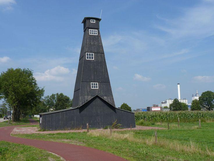 Een van de 'zouthuisjes' in Hengelo ©Willem Jans