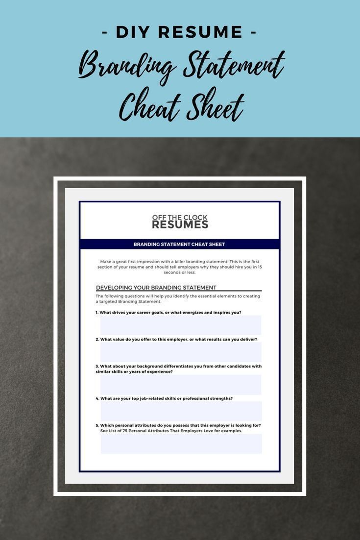 Struggling To Create A Targeted Resume This Cheat Sheet Will Challenge You To Consider Your Stre Resume Tips Resume Tips No Experience Cover Letter For Resume