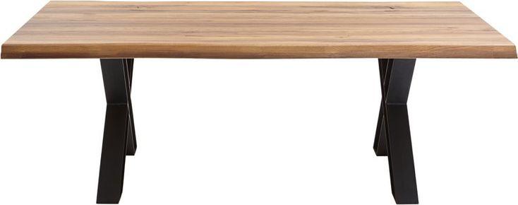 Stort utvalg av spisebord av god kvalitet. Sjekk vårt utvalg og hent i nærmeste butikkNaturespisebord220 cm med X-ben, rustikk eik