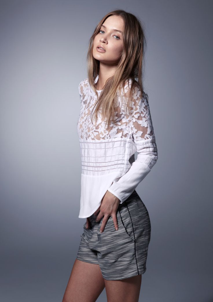 Caspian Long Sleeve T | NEW ARRIVALS | viktoria + woods.  Just love this blouse!!!