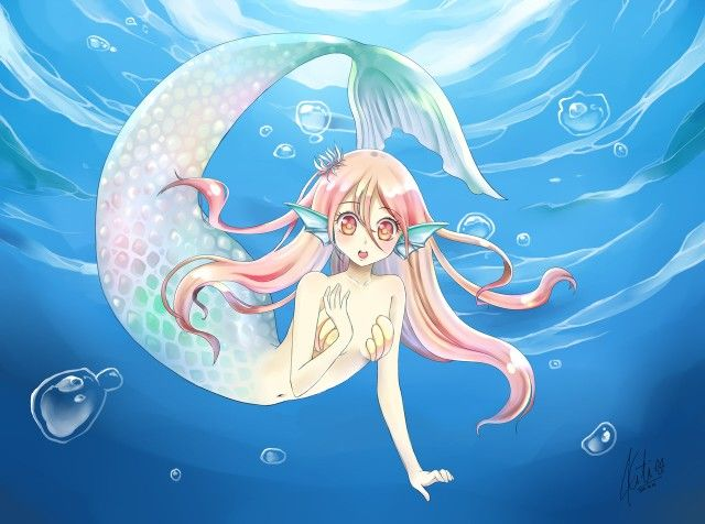 76 Best Images About Anime Mermaid On Pinterest