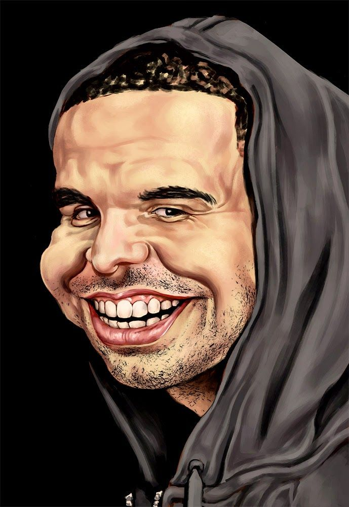 Drake one I just had to do #yolo #digitalart #artist  #fun #artwork #portrait #caricature #drake #cashmoney #sweetboy #2dart #photoshop #drizzy #digitalpainting #newartwork #art #happy #follow #bigsmile
