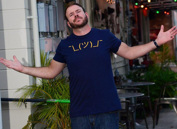 Shrug Emoji T-Shirt | SnorgTees