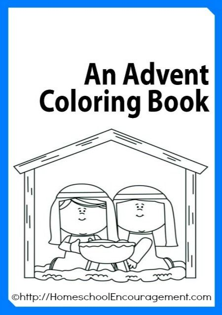 Free Advent Coloring Book plus 100′s of Advent Coloring Pages Linked!  this would be a good idea for children to help them understand what advent is