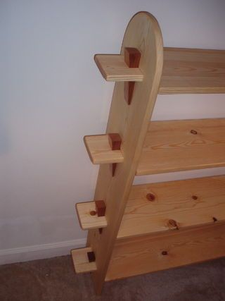 """""""knock-down"""" style furniture - made WITHOUT nails, screws, or glue..."""