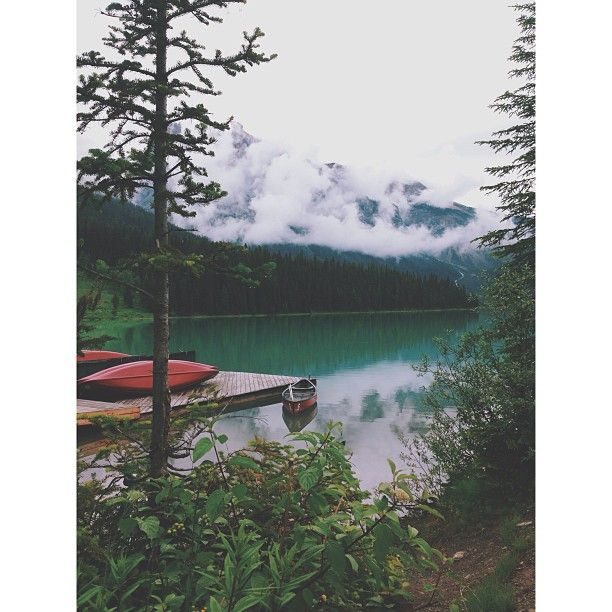 Emerald Lake, BC #iphoneography | ©Jayme Ford