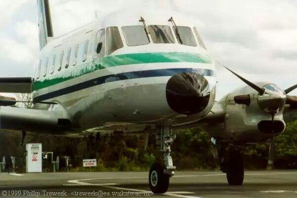 Air New Zealand Link EMBRAER EMB-110P1 Bandeirante ZK-LBC