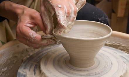 Instructors allow students to unlock their creativity with a class that deftly switches between handwork, slabwork, and wheelwork  Get Dirty Ceramics (Virginai Avenue)