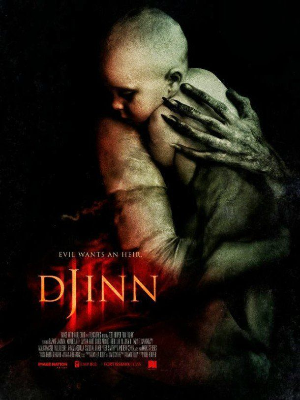 Tobe Hoopers DJIIN VOD / DVD Release Date Details / Poster