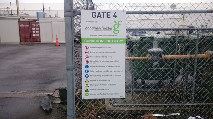 Health and Safety Signs conditions of entry Speedy Signs Christchurch Riccarton