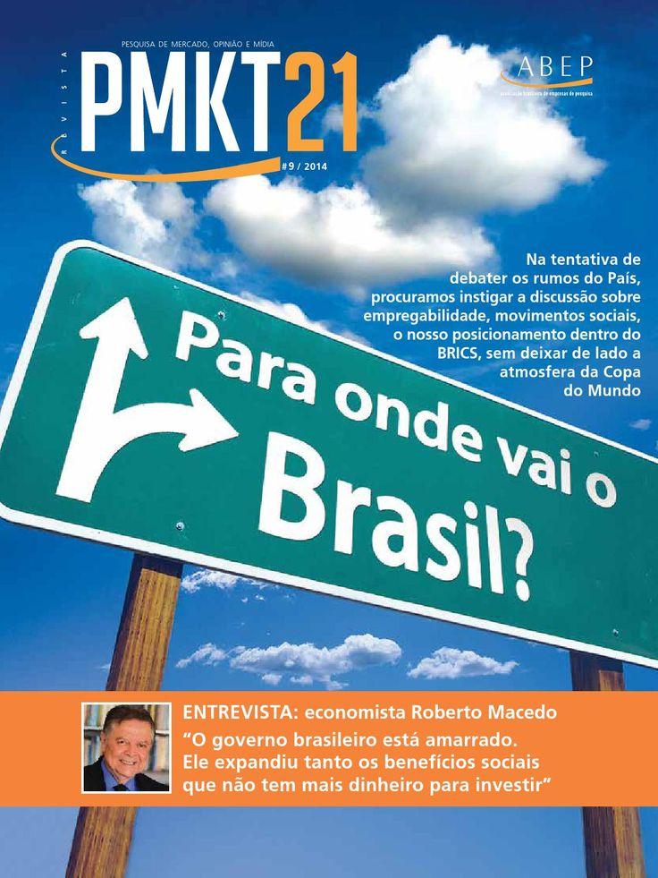 PMKT 21 Ed 9  Publicação da Associação Brasileira de Empresas de Pesquisa ABEP.