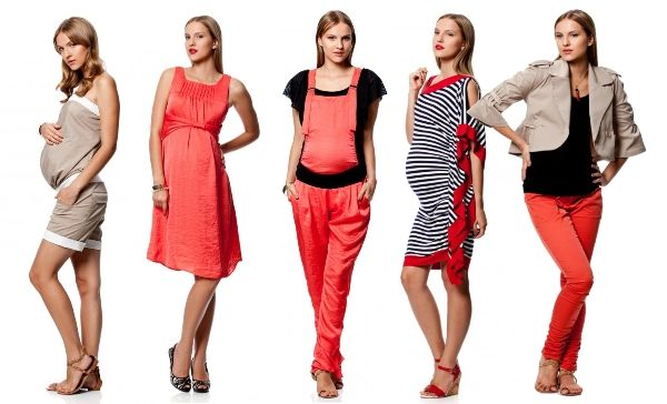 Модная одежда для беременных 2016 - мода и стиль (55 фото)