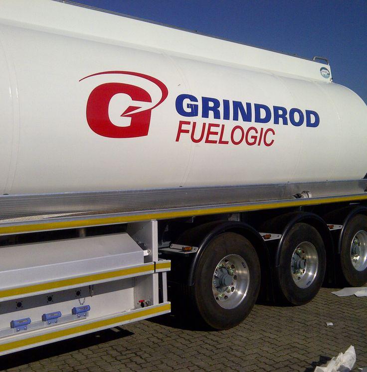 Fuel Tanker branding www.rocketsigns.co.za