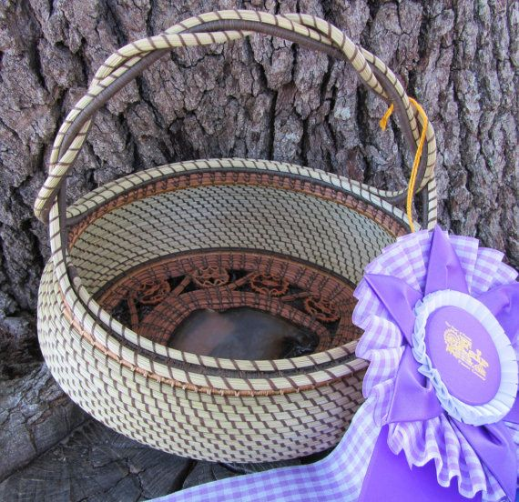 by Ruth Danger, Grand Champion Sweet Grass & Pine Needle by pineneedleperfection, $375.00