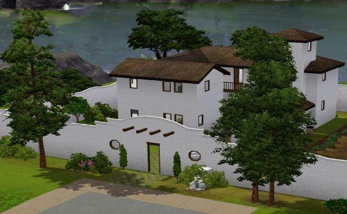 Hacienda del Gato Borracho by tsyokawe - Sims 3 Downloads CC Caboodle