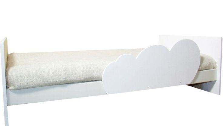 Rausfallschutz Wolke für das Kinderbett