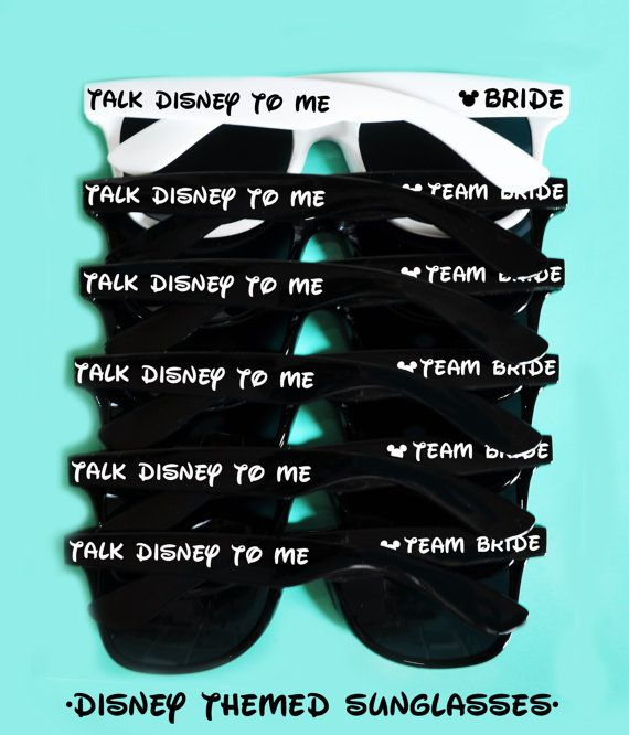 Disney Mickey Mouse Themed Bachelorette Bridal by weddingposh