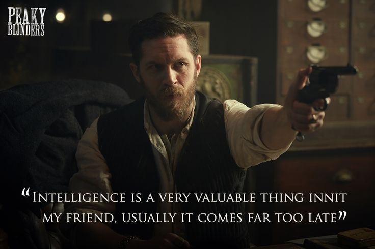 "Tom Hardy Peaky Blinders season two ""Intelligence..."" Alfie Solomons"