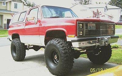 1986 Chevrolet K5 Blazer
