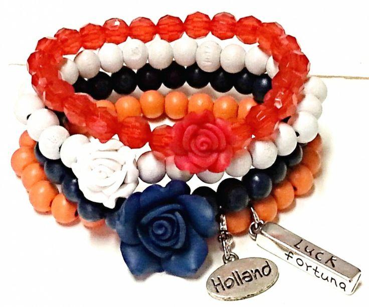 Combi WK-Holland | Kralen armbanden | JOOLSZ