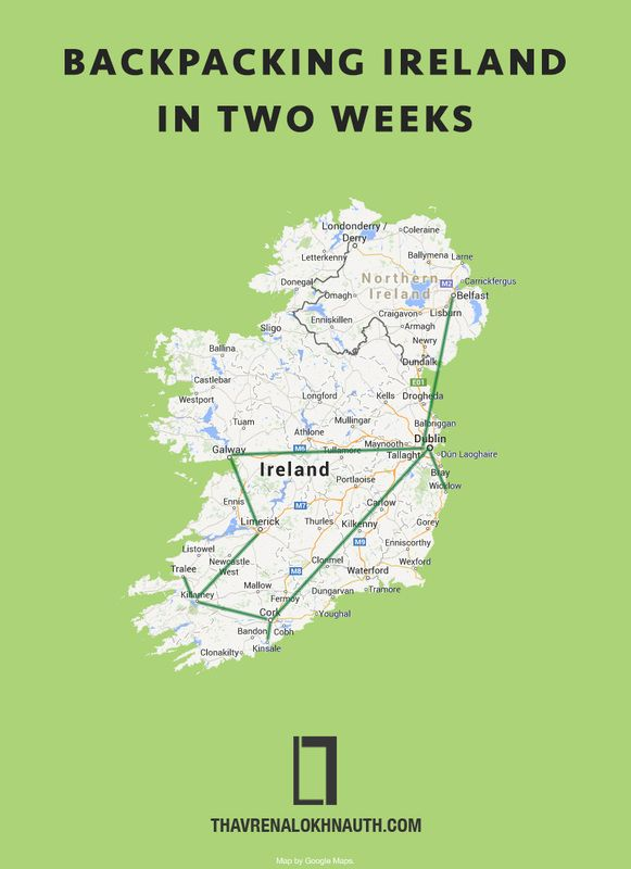 Backing Ireland in Two Weeks #traveltips