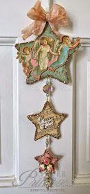 Har du begynt å lage årets julekort?   Hvis ikke, så byr det seg en anledning nå!           Tema for denne utfordringen er   engler/angels...