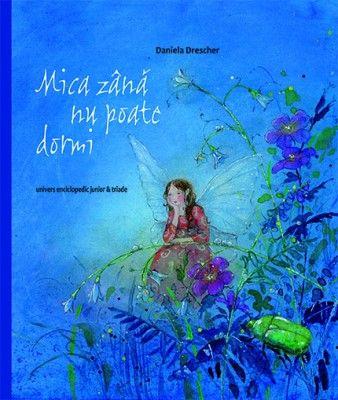 Mica zana nu poate dormi - Daniela Drescher: Varsta: 2+; O poveste magică despre o lume de vis, în care o mică zână nu poate să doarmă și hoinărește prin pădure. Se întâlnește cu Moș Ene, care pregătește saci cu nisip strălucitor ca să-i adoarmă pe copii și să-i facă să viseze frumos, apoi cu o vulpe și puișorii ei, cu o bufniță, cu o familie de spiriduși și, în sfârșit, cu un prinț fluture de noapte care o duce la o petrecere minunată, cu muzică și dans.  Să ne cufundăm în lumea viselor.