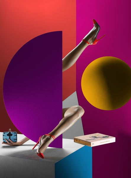philippe-garcia. Fabulous ad for Louboutin. TG