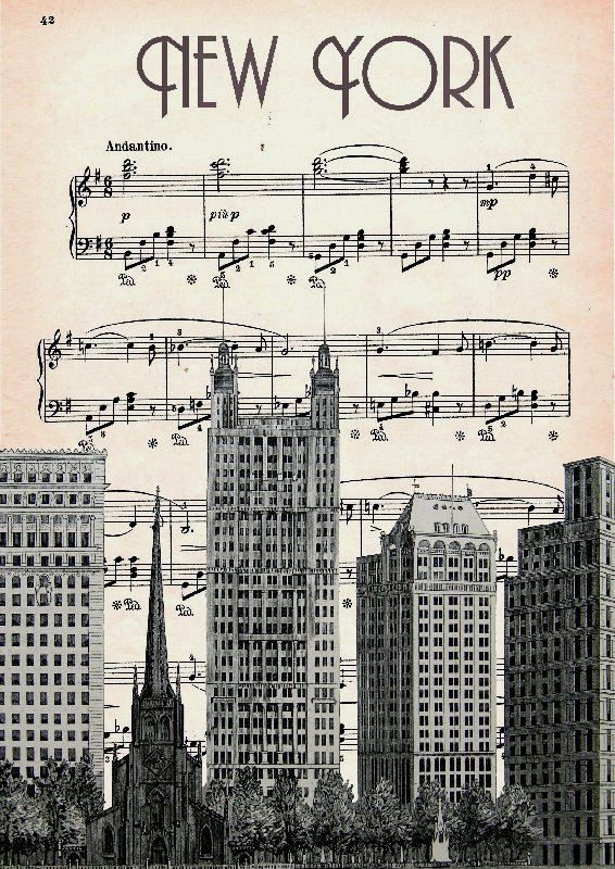 MUSIC RETRO 47 Print Poster Mixed Media Painting por artretro