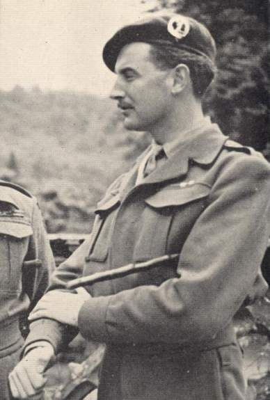 Simon Fraser, 15th Lord Lovat. Wartime commando.