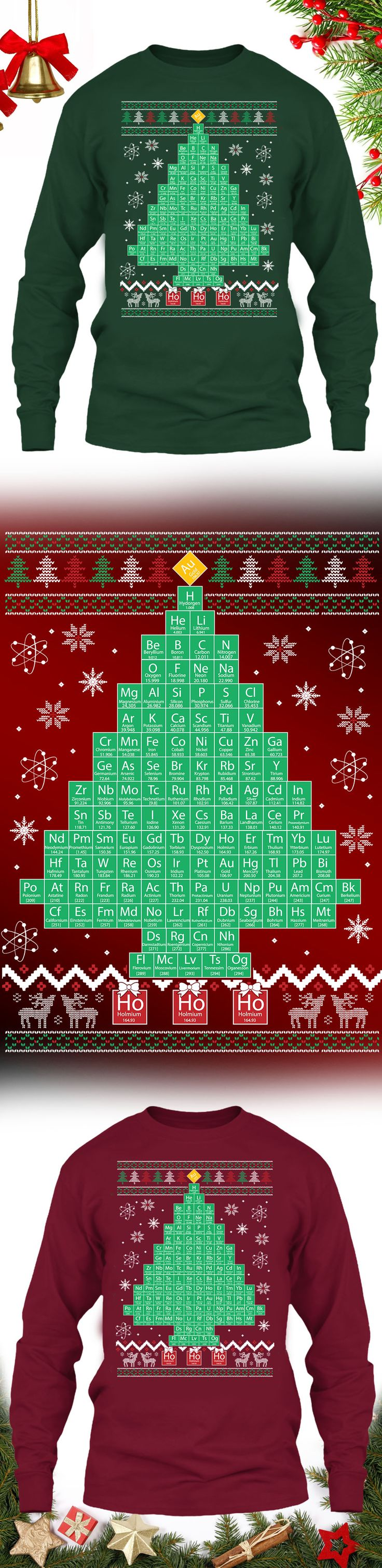 Chemistree Christmas Sweater - Get this limited edition ugly Christmas Sweater just in time for the holidays! Click to buy now!