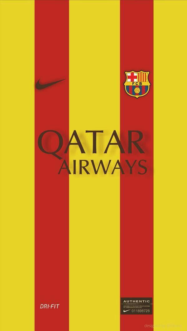 Jersey Fc Barcelona Visita 2014